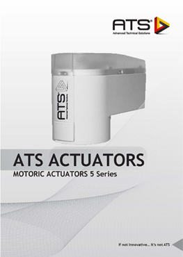 Motoric Actuator Catalogue